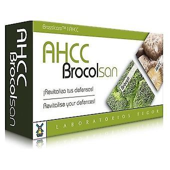 Laboratorios Tegor AHCC brocolsan 60 cápsulas