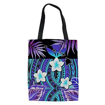 Ethnic Style Canvas Shopping Bag Reusable Grocery Tote Handbag