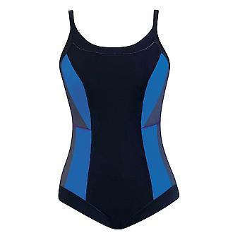 Sunflair Urban Explorers 22370-05 Women's Black Geometric Mastectomy Swimsuit