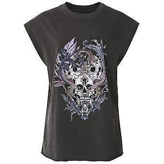 Zadig > Voltaire Weny Compo Skull Strass Tank Top