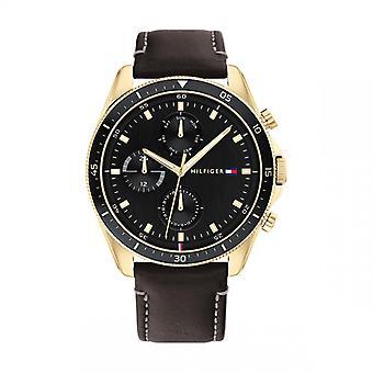 Tommy Hilfiger PARKER 1791836 Men's Watch - Brown Leather Bracelet