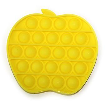 Apple shape Pressure Relief Silicone Pressure Relief Toys Squeeze Feel Toys