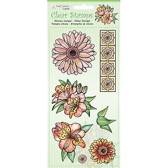 Jeje Marij Rahder Clear Stamps Flowers