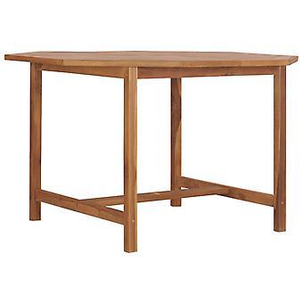 Tavolo da giardino 120x120x75 Cm Legno massello di teak