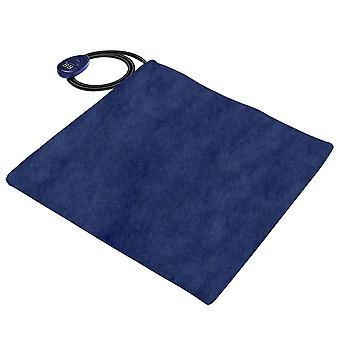 18w Adjustable Temperature Pet Heating Warmer Dog And Cat Bed Mat With  Plug (blue)