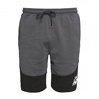 Kings soñará con pantalones cortos gris oscuro/negro de Freswick