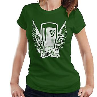 Guinness Vintage Pint With Wings Naisten't-paita