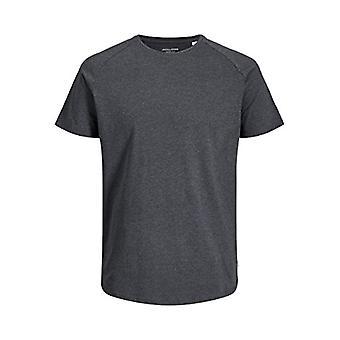 JACK &JONES JJECURVED T-Shirt SS O-Neck Noos T-Shirt, Dunkelgrau m lange, M Herren