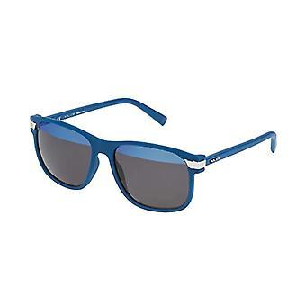 Police SPL231 Brille, Blau (Blau Denim Matt), Einheitsgröße Herren