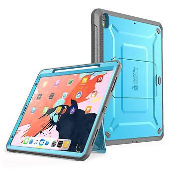iPadPro 12.9 pulgadas 2018 UBPro Caja de cuerpo completo (versión Apple Pencil) (Azul)