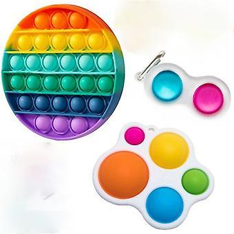 Fidget Toys Pack Anti Stress Toy Set Relief Prezent dla dorosłych Dziewczyna Dzieci Sensory Antistress Relief Figet Zabawki