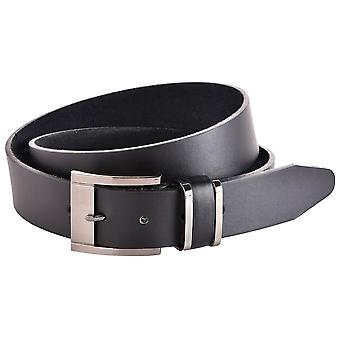 Men's 40mm Smooth Finish Leather Trouser Belt