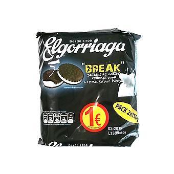 Biscuiți El Gorriaga Break Custard (150 g)