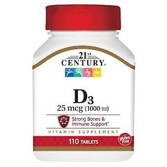 21st Century Vitamin D-1000, 110 Tabs