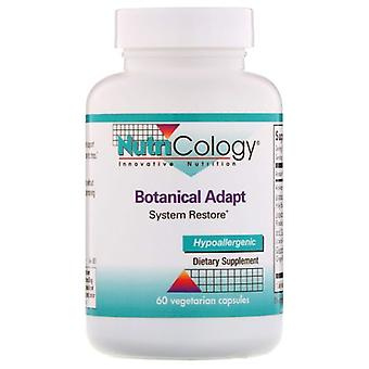 Nutricology/ Allergy Research Group Botanical Adapt, 60 Veg Caps