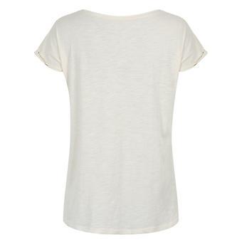 Grindstore Donne/Signore Arcobaleno Piume Rotolo ManicheVintage T-Shirt