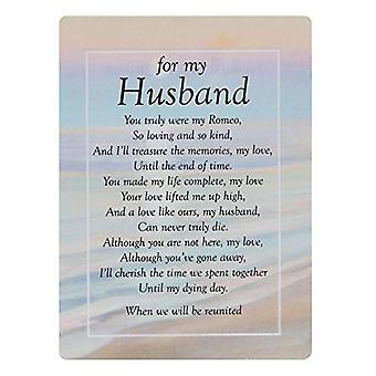 Graveside Memorial Cards - For My Husband