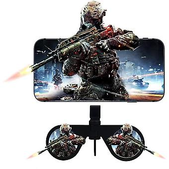 Mini Folding 3d Virtual Reality Cellphone Nearsighted Myopic Vr Glasses For 3d