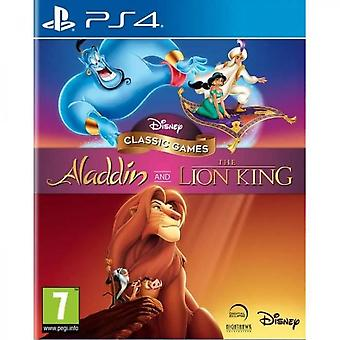 Disney Aladdin Classic Games And The Lion King Ps4 Game