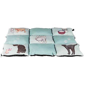 Trixie Cats Patchwork Blanket, Harmaa (Kissat , Vuodevaatteet , Igloos)