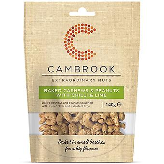 Cambrook Baked Cashews & Peanuts with Chilli & Lime