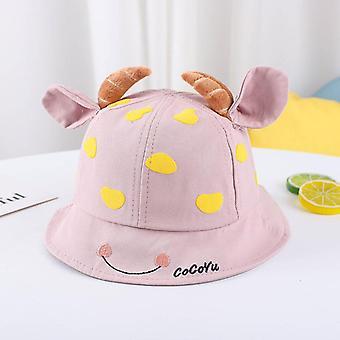 1-3 jaar oude kinderen houden van hoorn emmer hoed jongens en meisjes zonnehoed