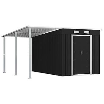 Garden Shed garden storage shed tool storage shed Shed with extended roof