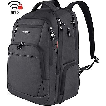 KROSER School Laptop Backpack 17.3 Inch Large Travel Computer Backpack Water-Repellent Daypack with