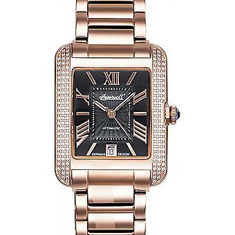 Ingersoll Rose Gold Stainless Steel IN1715RBK Women's Watch