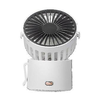 Привод ручные вентиляторы господа USB настольный вентилятор висячая шея трех передач скорость ветра с сильным ветром тихая работа 45 ° вращение мини