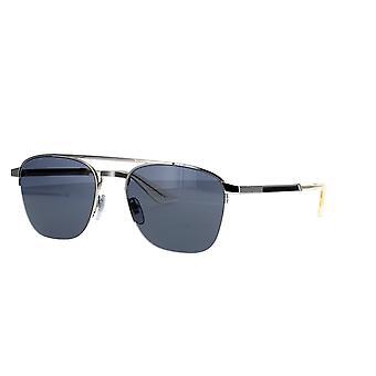 غوتشي GG0985S 001 النظارات الشمسية الفضية / الرمادية