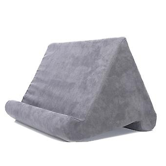 Travesseiro de suporte de telefone celular multi-ângulo travesseiro preguiçoso leitura suave