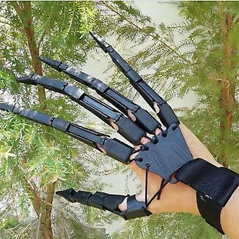 Rugalmas közös pókkarom kesztyű, Halloween party ruha (jobb kéz)
