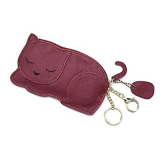 Cartoon Animal Cat Wallet Credit Card Holder Pu Leather Coin Purse Pouch Case