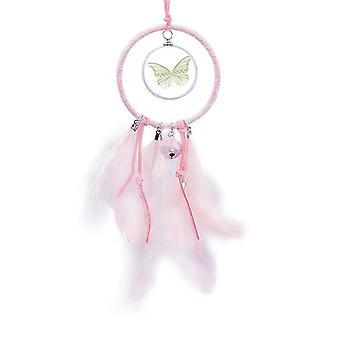 grønn sommerfugl kite art deco mote drøm catcher liten klokke soverom dekor