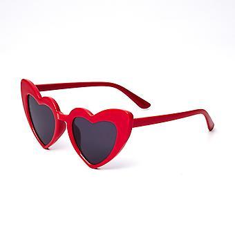 Nya barn solglasögon Barn Solglasögon Älskar hjärtglasögon Baby Frame Eyewear