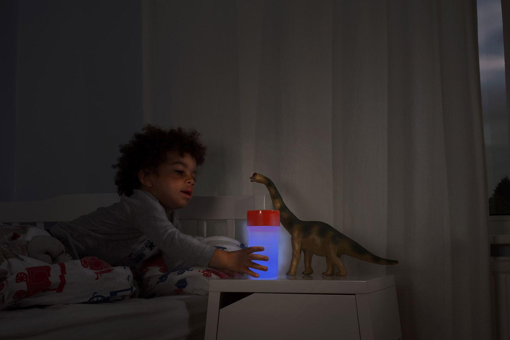 Litecup Sippy Cup No Spill and Lights up 12m+