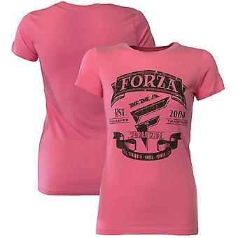 "Forza Sports Women's ""Origins"" MMA T-Shirt - Hot Pink"