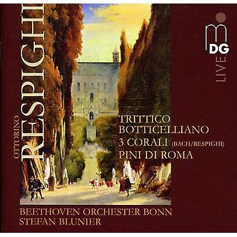 O. Respighi - Respighi: Trittico Botticelliano; 3 Corali; Pini Di Roma [SACD] USA import