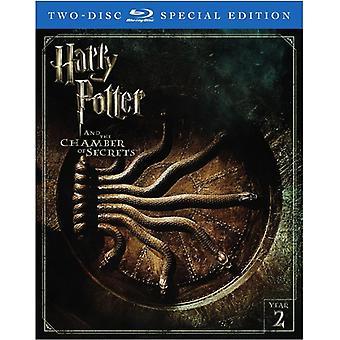 Harry Potter & l'importazione Stati Uniti Camera dei segreti [Blu-ray]