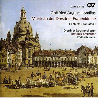 Gottfried Homilius - Gottfried August Homilius: Musik an Der Dresdner Frauenkirche - Cantatas 1 [CD] USA import