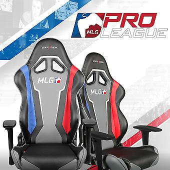 DX Racer DXRacer OH/RE112/MLG High-Back Racing Seat Gaming Chair PU(Black/Red/Blue)