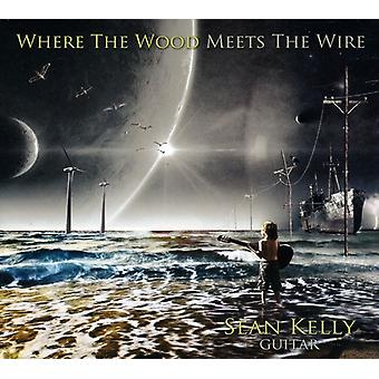 Sean Kelly - Where the Wood Meets the Wire [CD] USA import