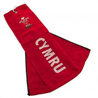 Wales R.U. Tri Fold Towel