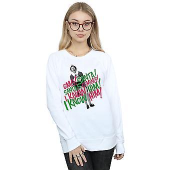 Elf Women's Santa's Coming Sweatshirt