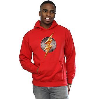 DC Comics menns Justice League film Flash Emblem Hettegenser
