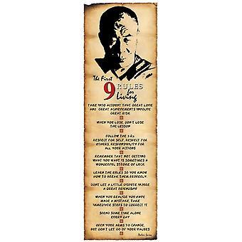 Далай-лама - правила для жизни Плакат Плакат Печать