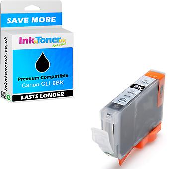 Canon compatible CLI-8BK Black 0620B001 Ink Cartridge pour Canon MP800R