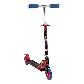 Batmam Justice League 2 Wheel Inline Scooter with Adjustable Handlebar