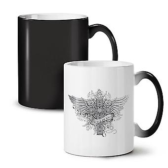 Believe Death Fashion NEW Black Colour Changing Tea Coffee Ceramic Mug 11 oz | Wellcoda